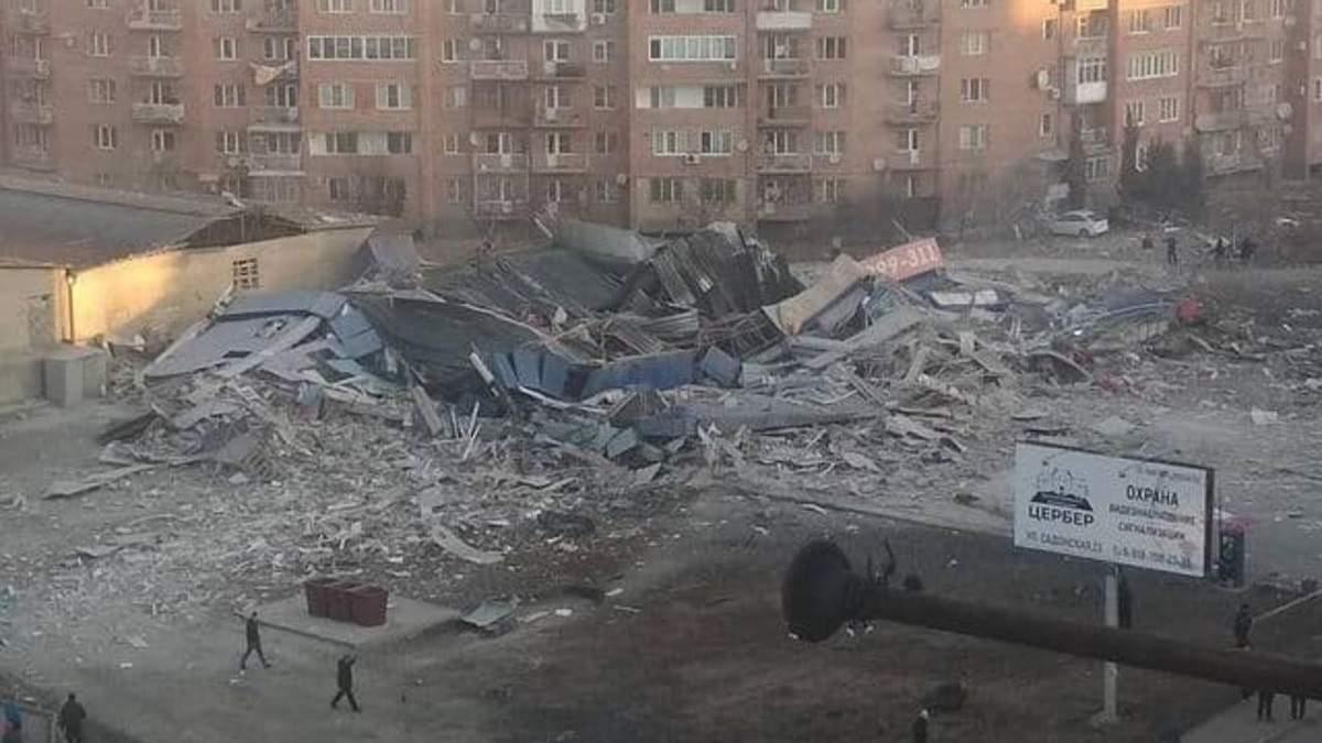У Росії стався вибух у супермаркеті 12 лютого 2021