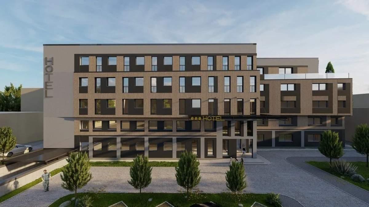 Недалеко от центра Львова построят новый 5-этажный отель: фото