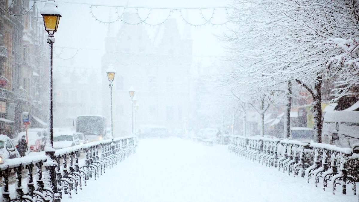 Снігопад у Києві 2021: фото та відео, що буде у вихідні