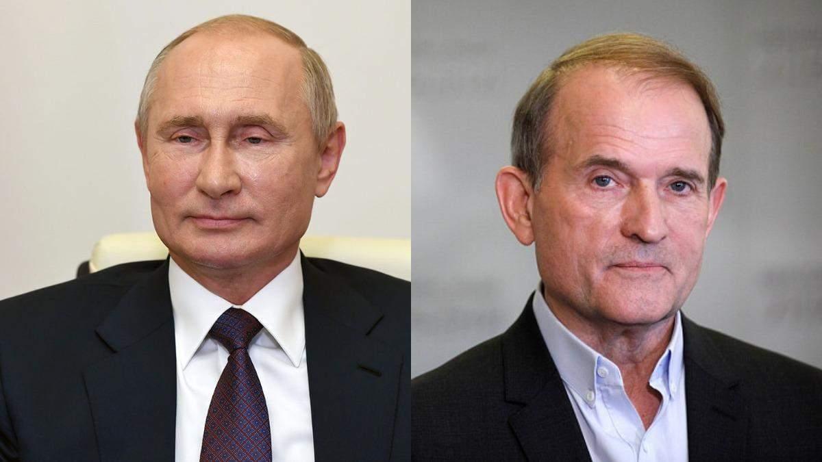Путин делал жест Медведчуку, - Сергей Лещенко