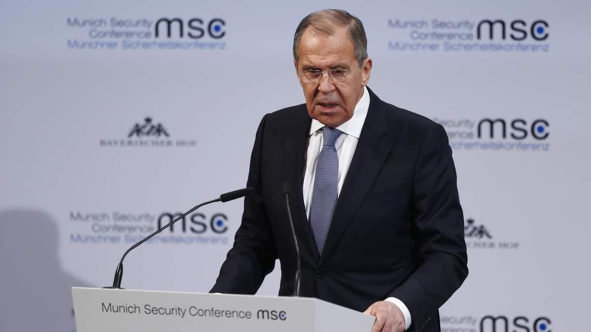 Лавров заявив про вигоду мінських угод для Росії