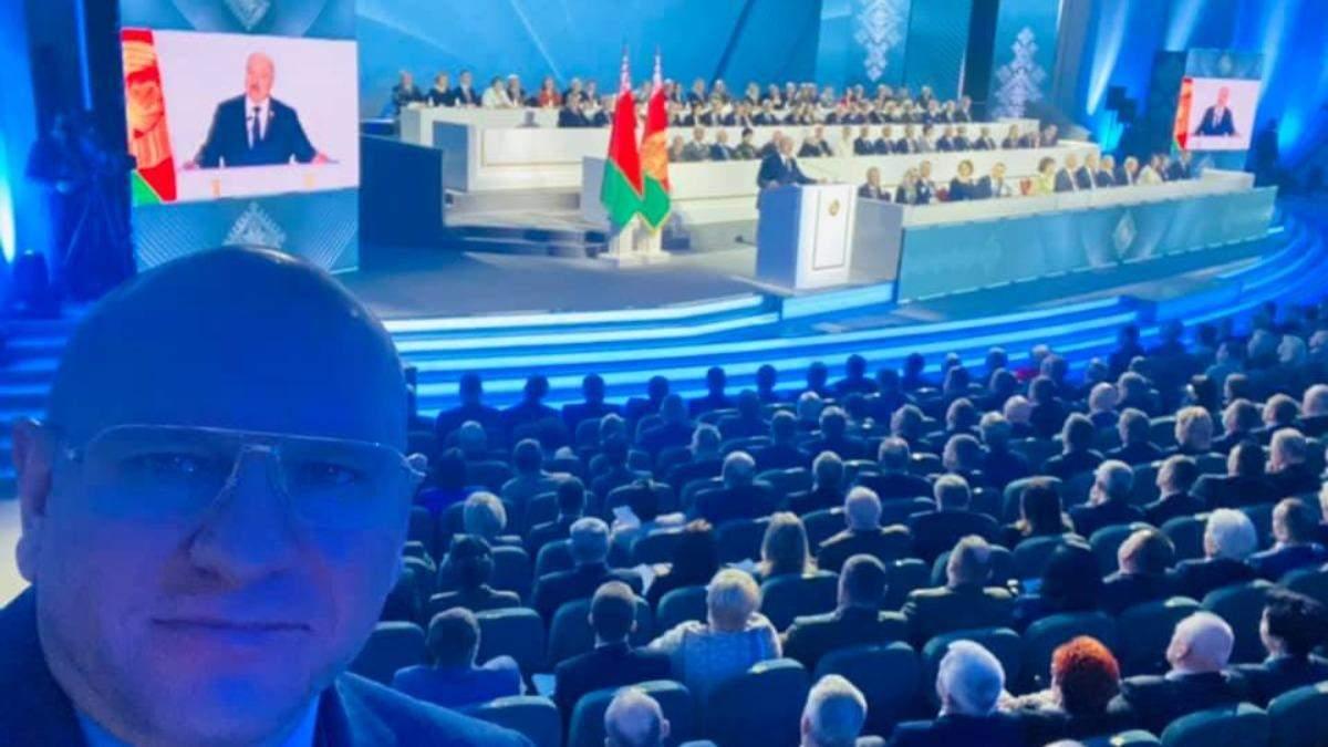 Нардеп от слуг Шевченко побывал на сборах в Лукашенко