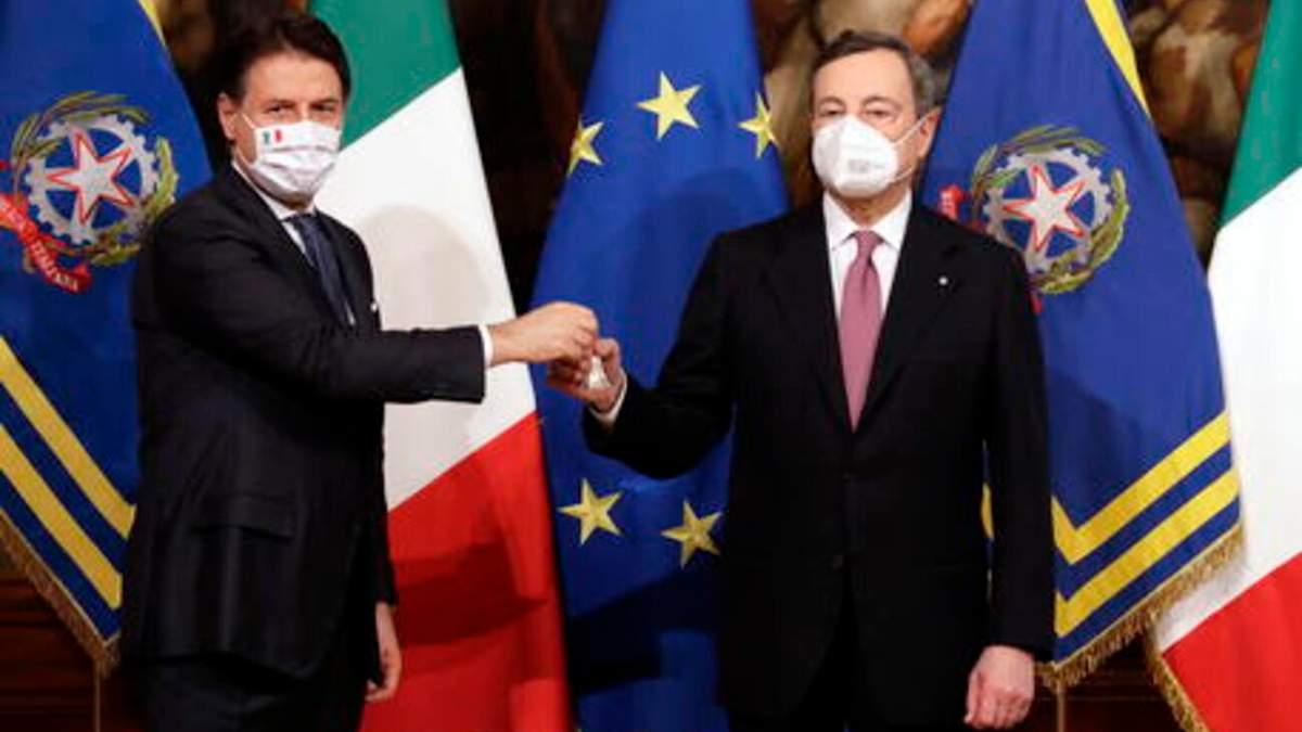 В Італії привели до присяги новий уряд на чолі з Маріо Драгі: відео
