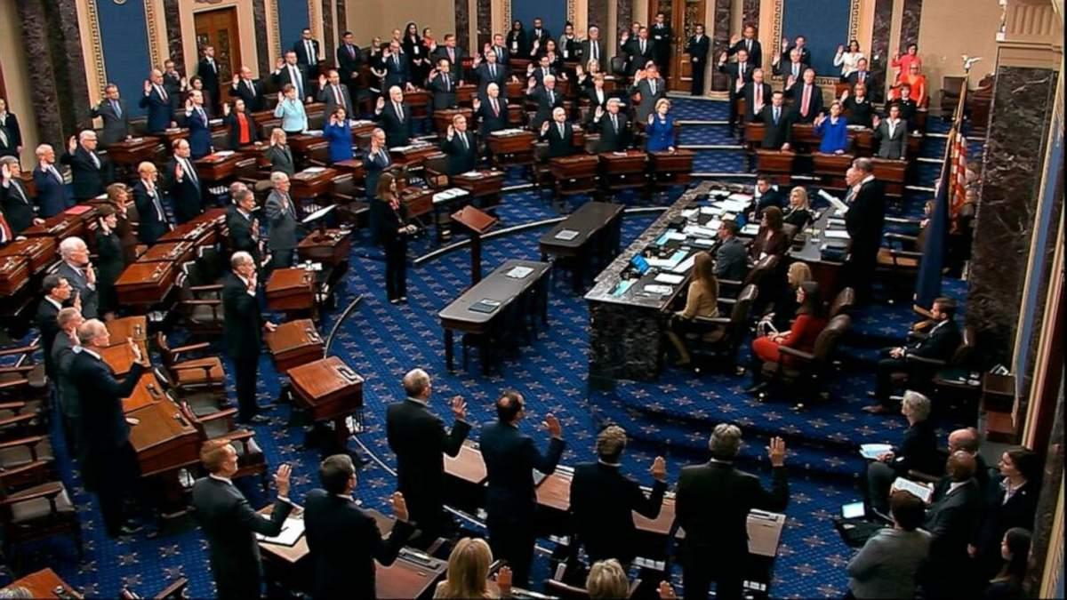 Сенат разрешил допросить свидетелей по делу импичмента Трампа