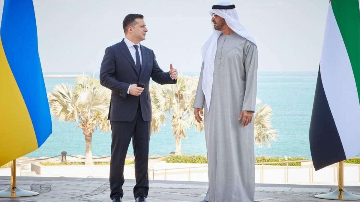 Зеленський в ОАЕ підписав низку важливих угод: що саме
