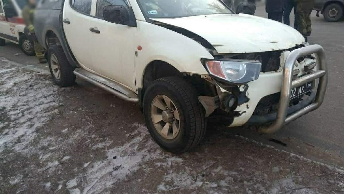 ЗМІ: у Горлівці вибухнув автомобіль одного з ватажків бойовиків ДНР