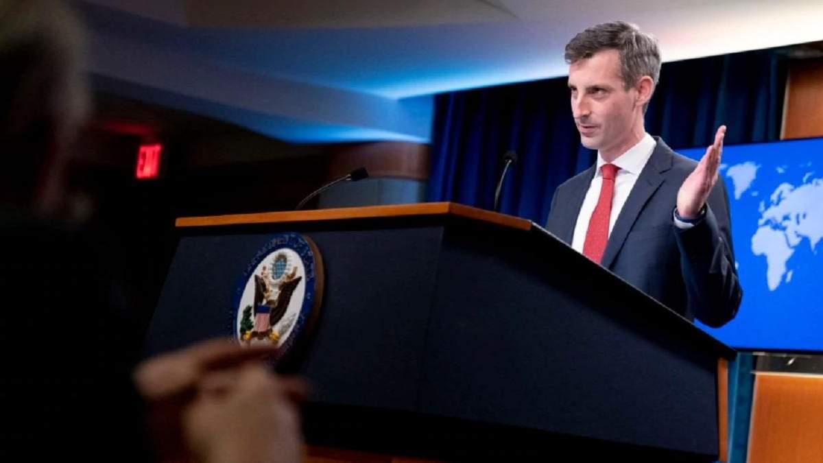 Будемо тиснути: Держдеп США про справу Навального