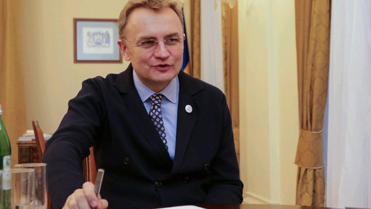 Садовый рассказал о приеме больных COVID-19 из Ивано-Франковска и вакцинацию во Львове