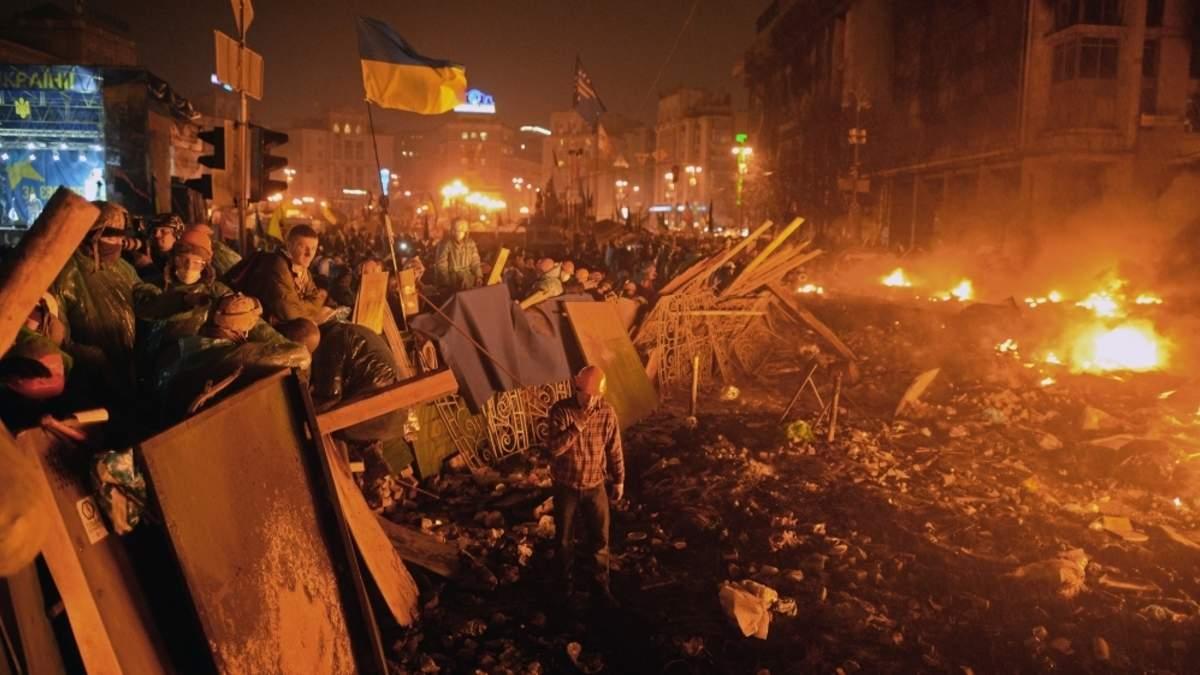 Кривава зима 2014: син Героя Небесної Сотні пригадав дні Майдану
