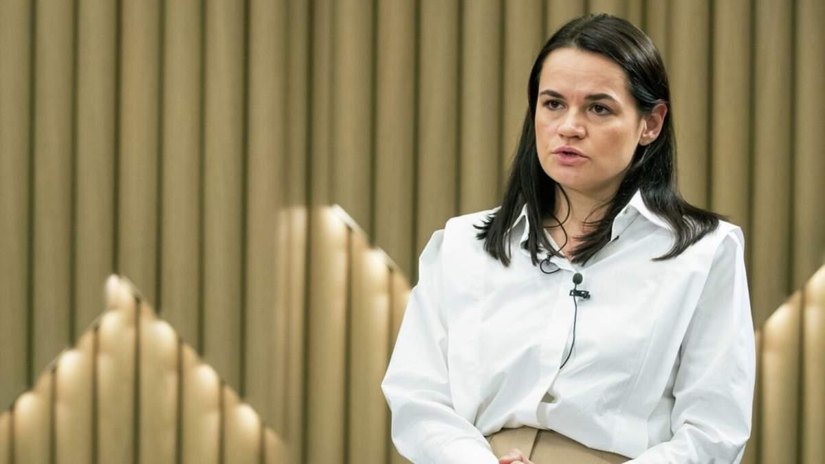 Моє повернення до Білорусі не змінить нічого, – Тихановська