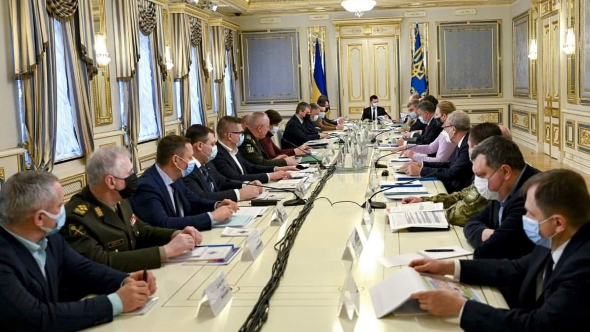 Засідання РНБО 19 лютого: які санкції схвалили, рішення по Донбасу