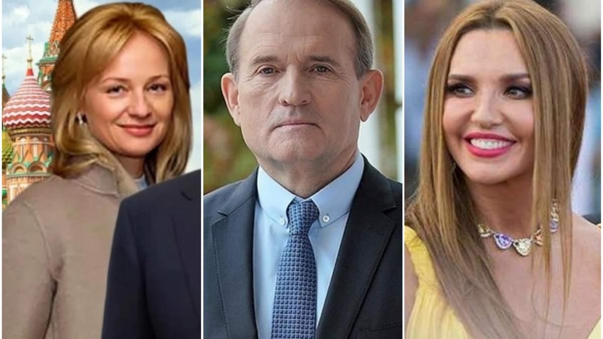Медведчук, Марченко та бізнесмени РФ під санкціями: що про них відомо