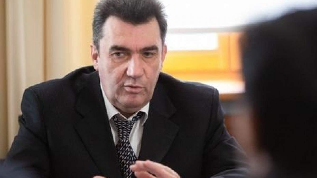 Данілов розповів деталі про трубопровід Медведчука