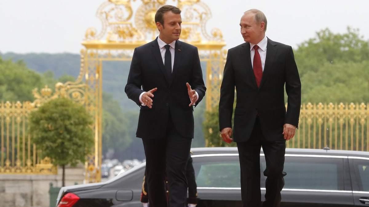 Макрон на Мюнхенській конференції висловився за діалог з Росією