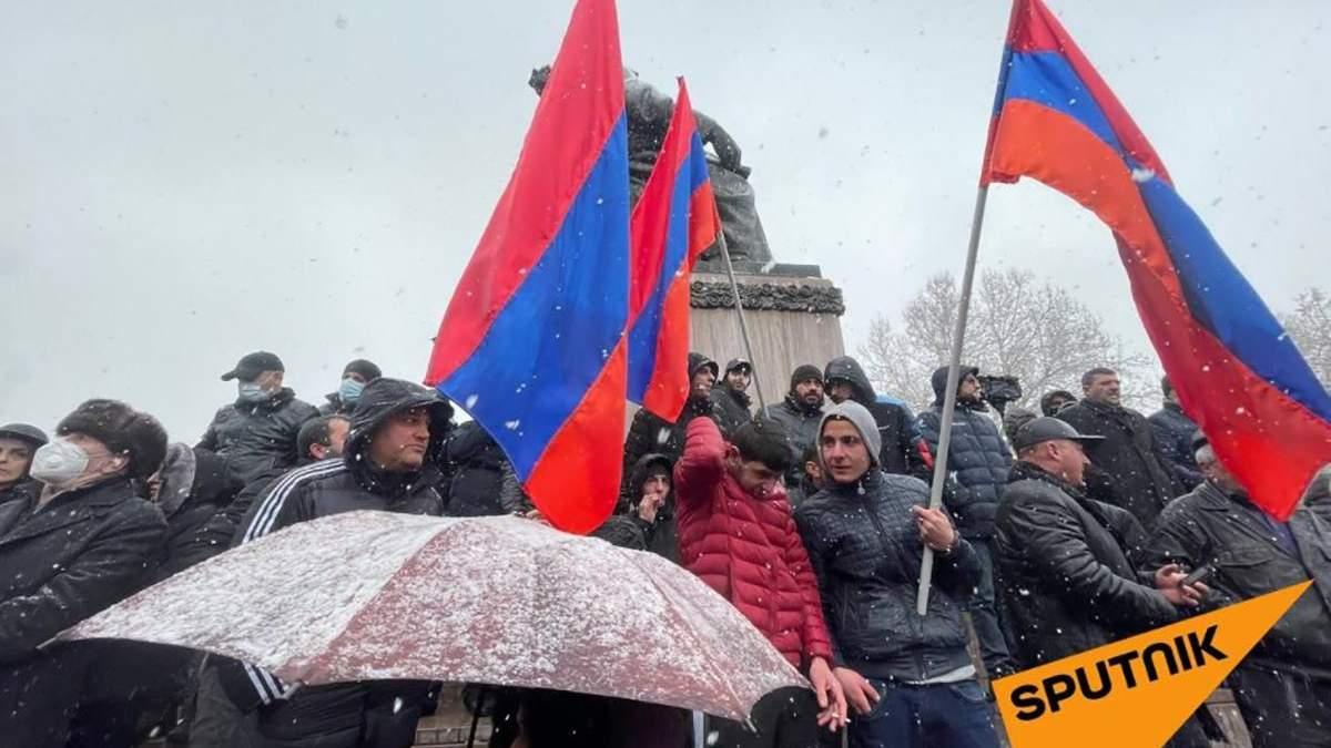 В Армении возобновили протесты против Пашиняна – фото, видео