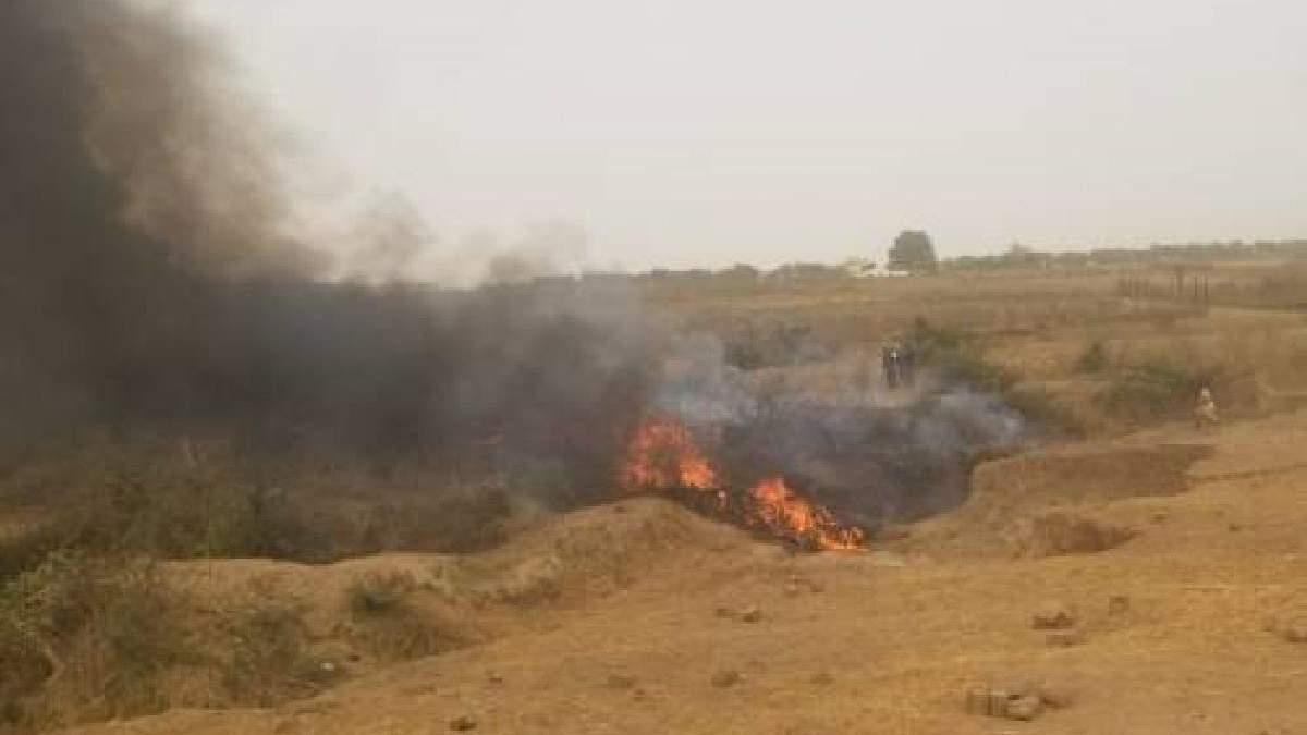 У Нігерії 21.02.2021 розбився військовий літак: є загиблі
