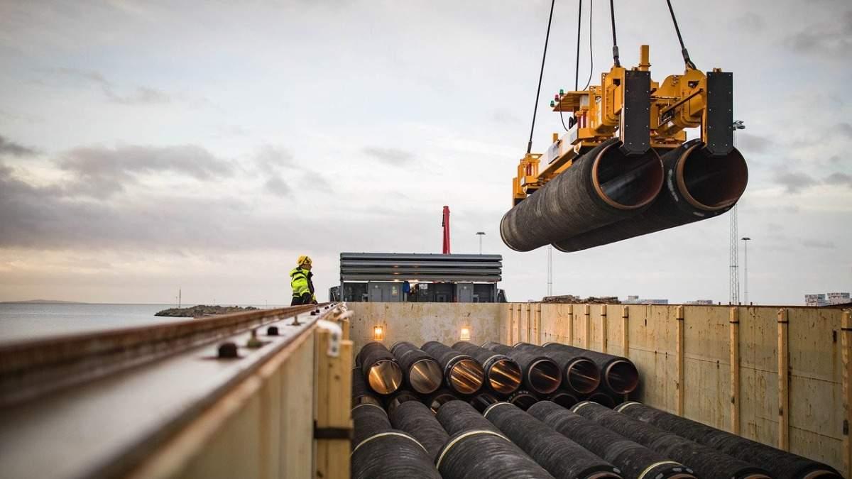 Северный поток-2 просит срочный разрешение на работы в Германии