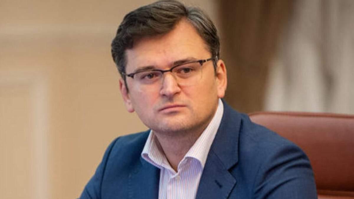 Кулеба про санкції проти Медведчука і реакцію Росії