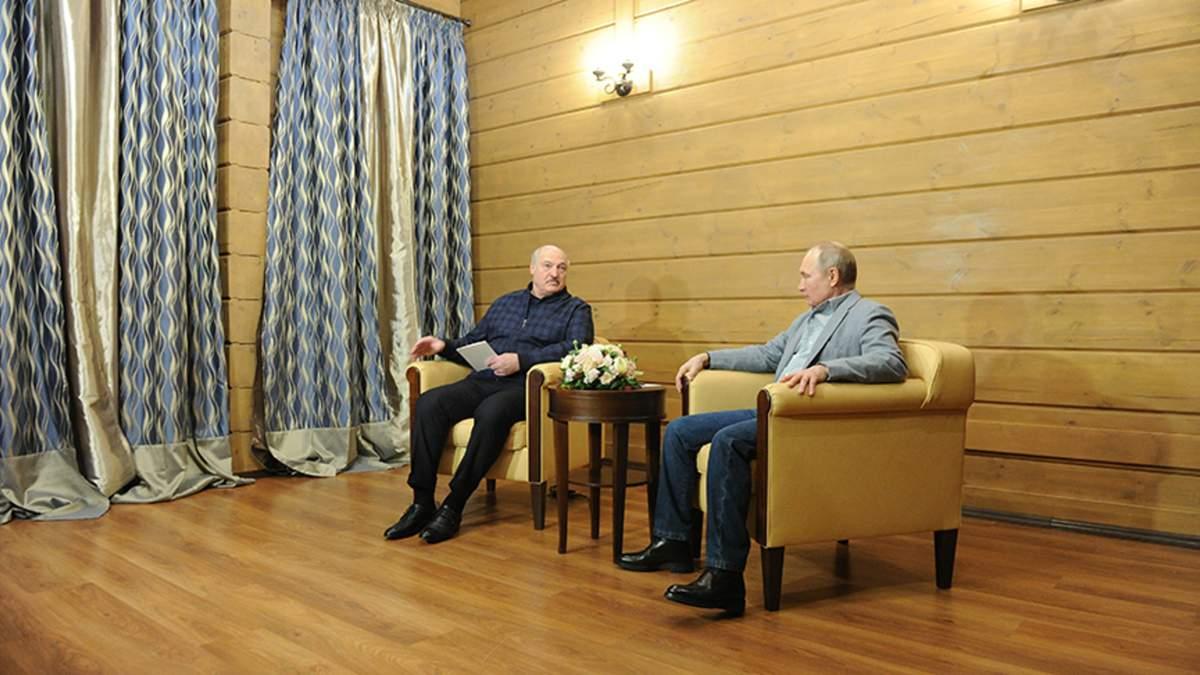 Лукашенко і Путін зустрілися в Сочі: про що говорили