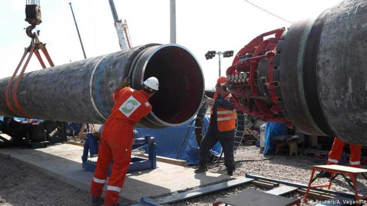 Может стать трубой без газа: евродепутатка о судьбе Северного потока-2