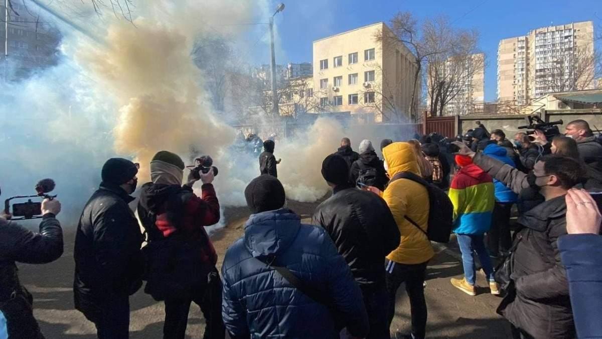 Протести після вироку Стерненку – фото та відео з Приморського суду