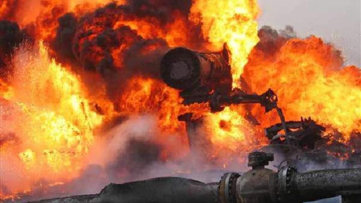 Вибух на газопроводі в Росії: припинили транзит газу до Казахстану