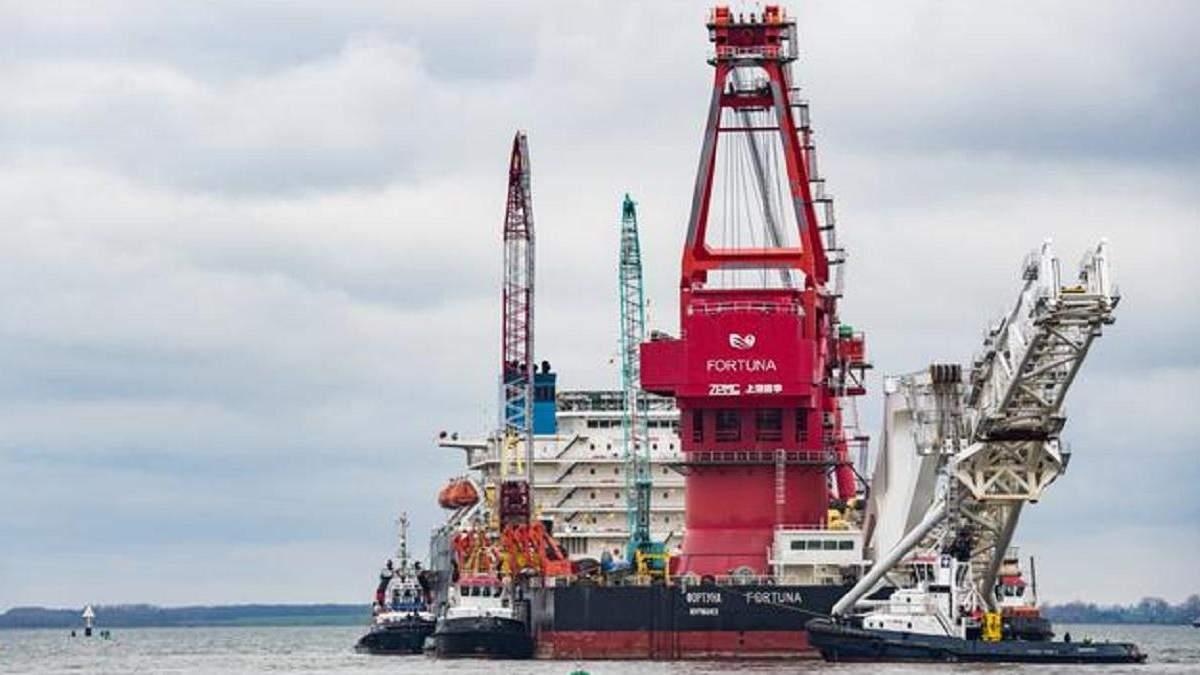 18 європейських компаній відмовилися добудовувати Північний потік-2