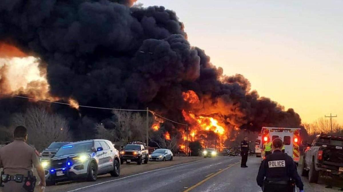 Потужний вибух у Техасі 23 лютого 2021: деталі, фото, відео