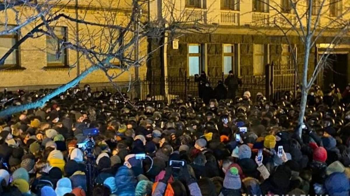 Акция после приговора Стерненку в Киеве: есть задержанные - фото