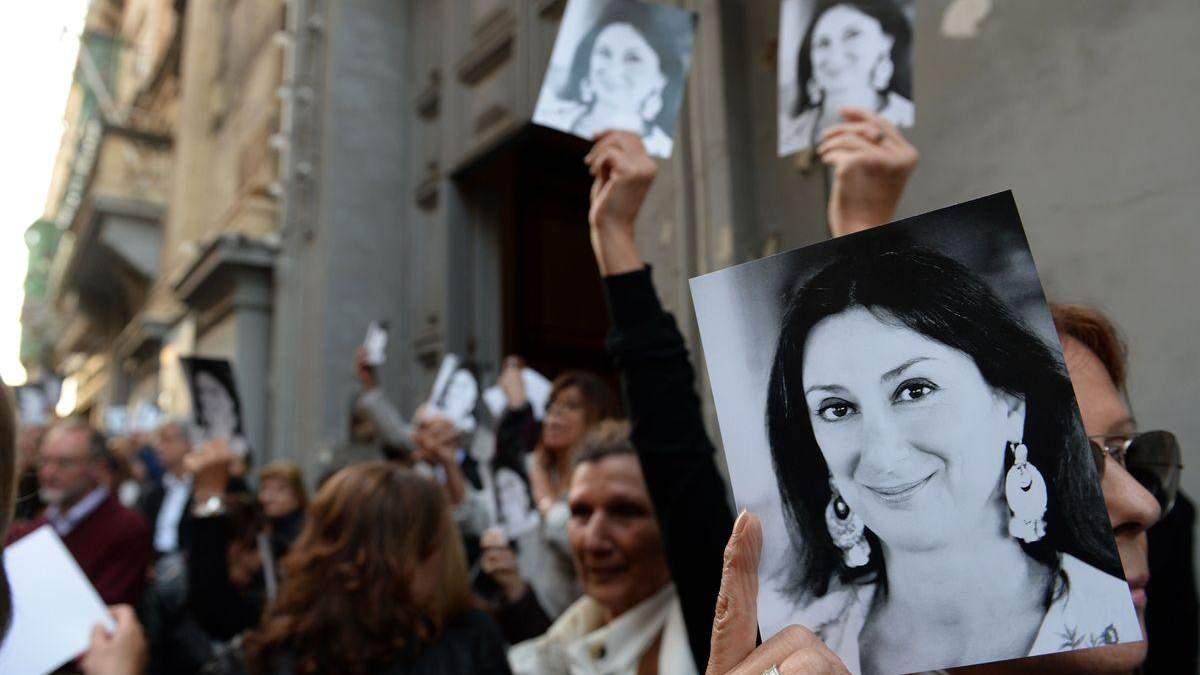 Убийство журналистки на Мальте: суд получил признание и вынес приговор