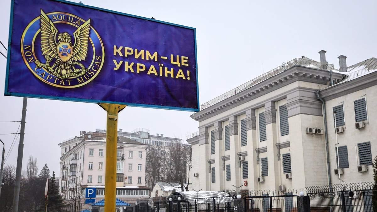 СБУ нагадала Росії, кому належить Крим: фото