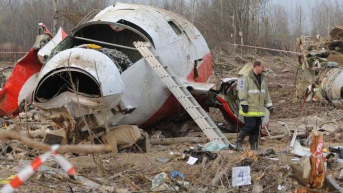 На борту самолета с Качиньским сдетонировала взрывчатка: расследование