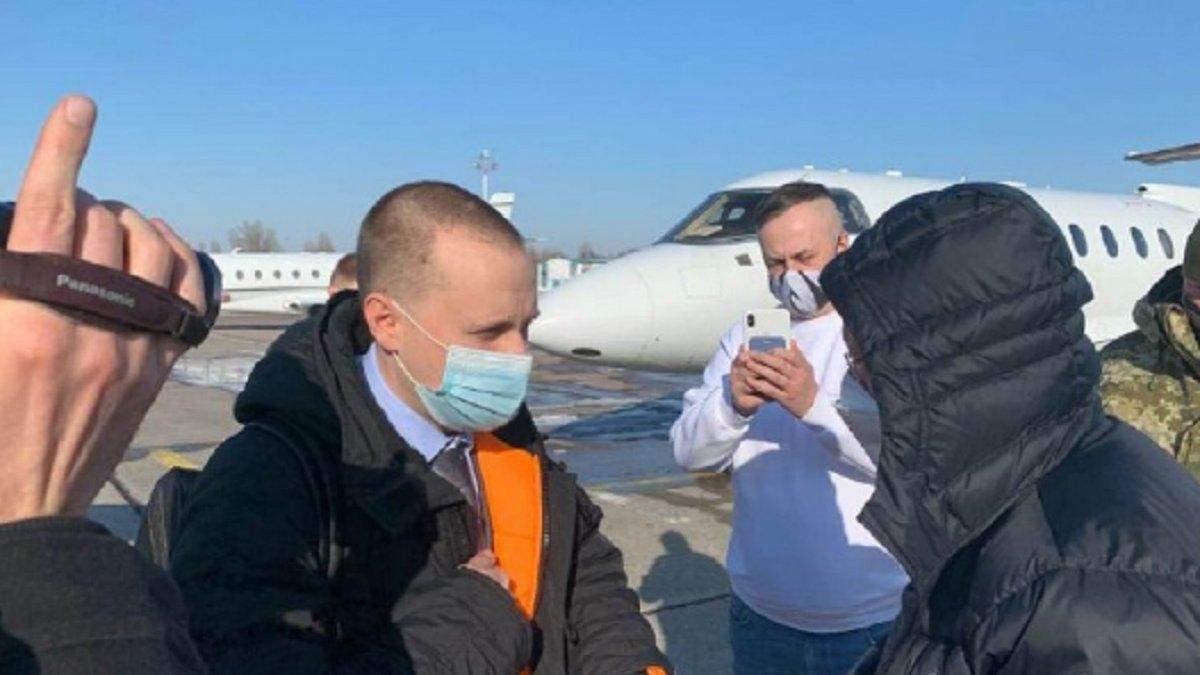 Яценко, підозрюваний у справі Приватбанку,  вийшов під заставу
