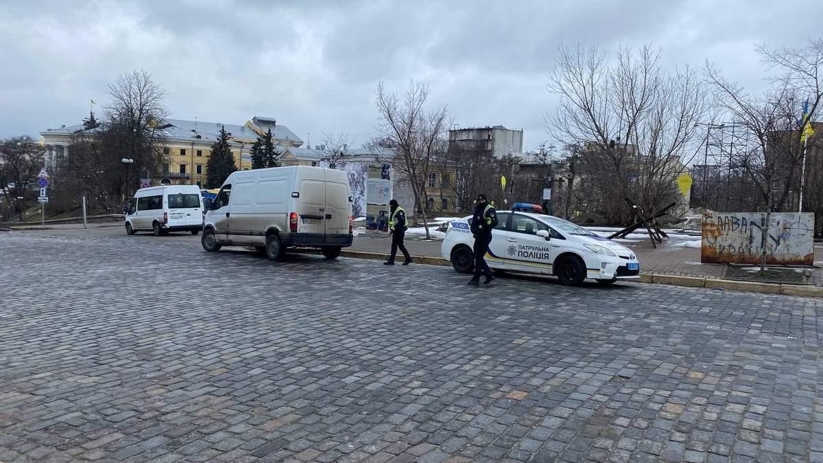 Поліція у Києві готується до протестів на підтримку Стерненка