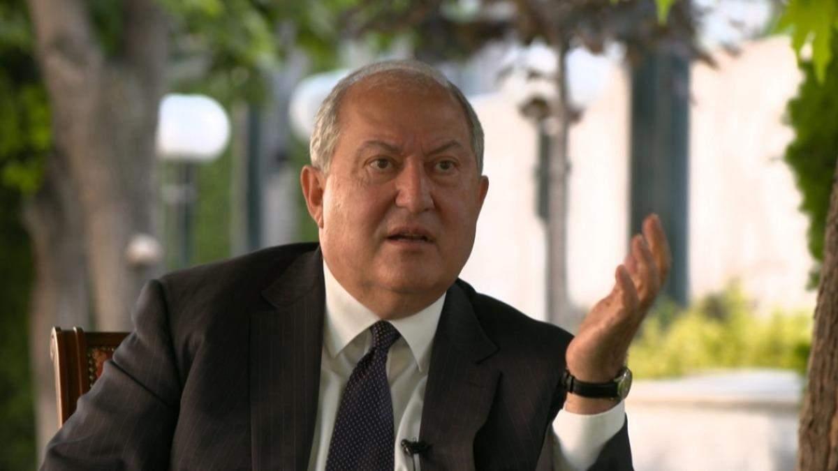 У Вірменії не виключають можливість імпічменту президента