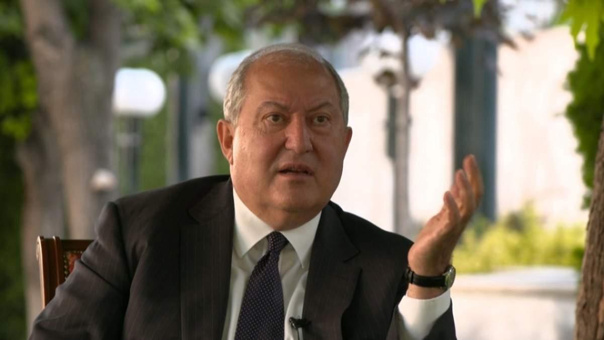 В Армении не исключают возможность импичмента президента