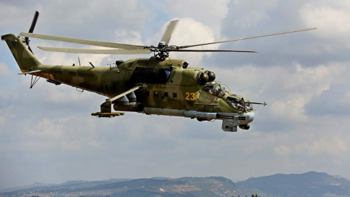 В Сирії розбився російський військовий вертоліт: в Росії заперечують