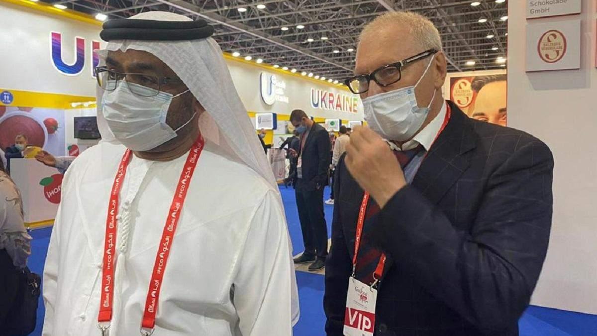 Основатель BGV Group Геннадий Буткевич и Чрезвычайный и Полномочный Посол ОАЭ в Украине Салем Ахмед Аль-Кааби.