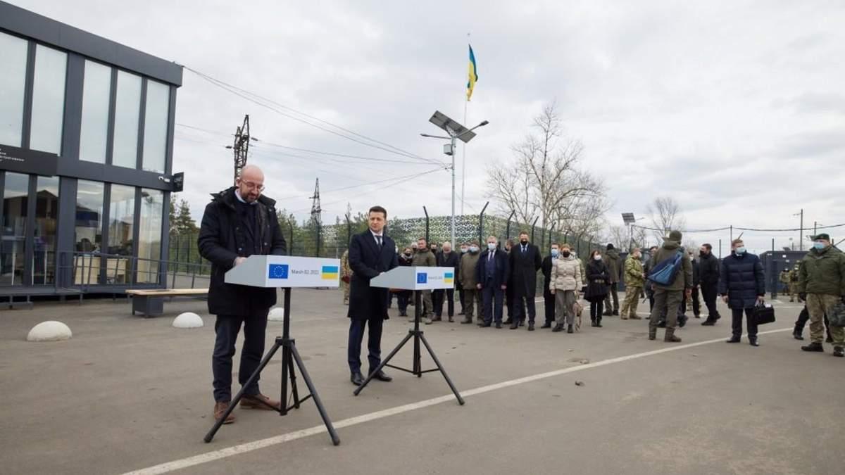 Євросоюз збирається фінансувати КПВВ на Донбасі