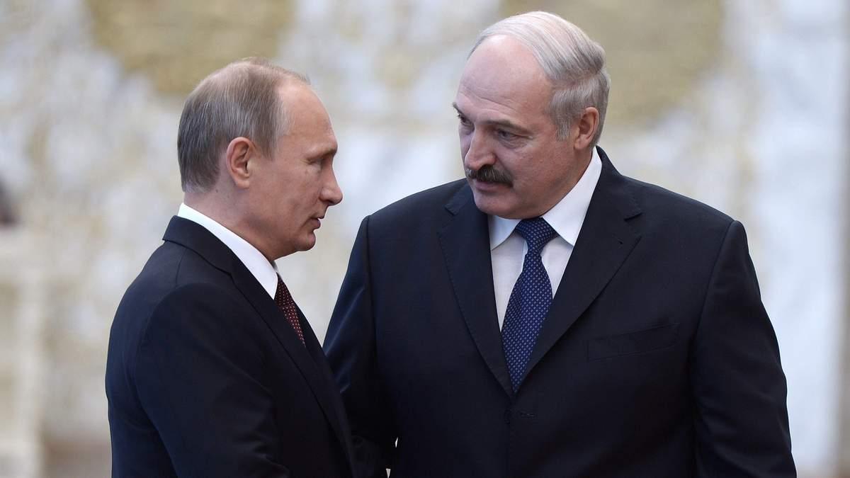 Лукашенко не виключив розміщення військових літаків Росії в Білорусі