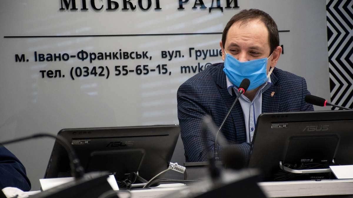 Мэра Франковска Марцинкив попросил у правительства помочь