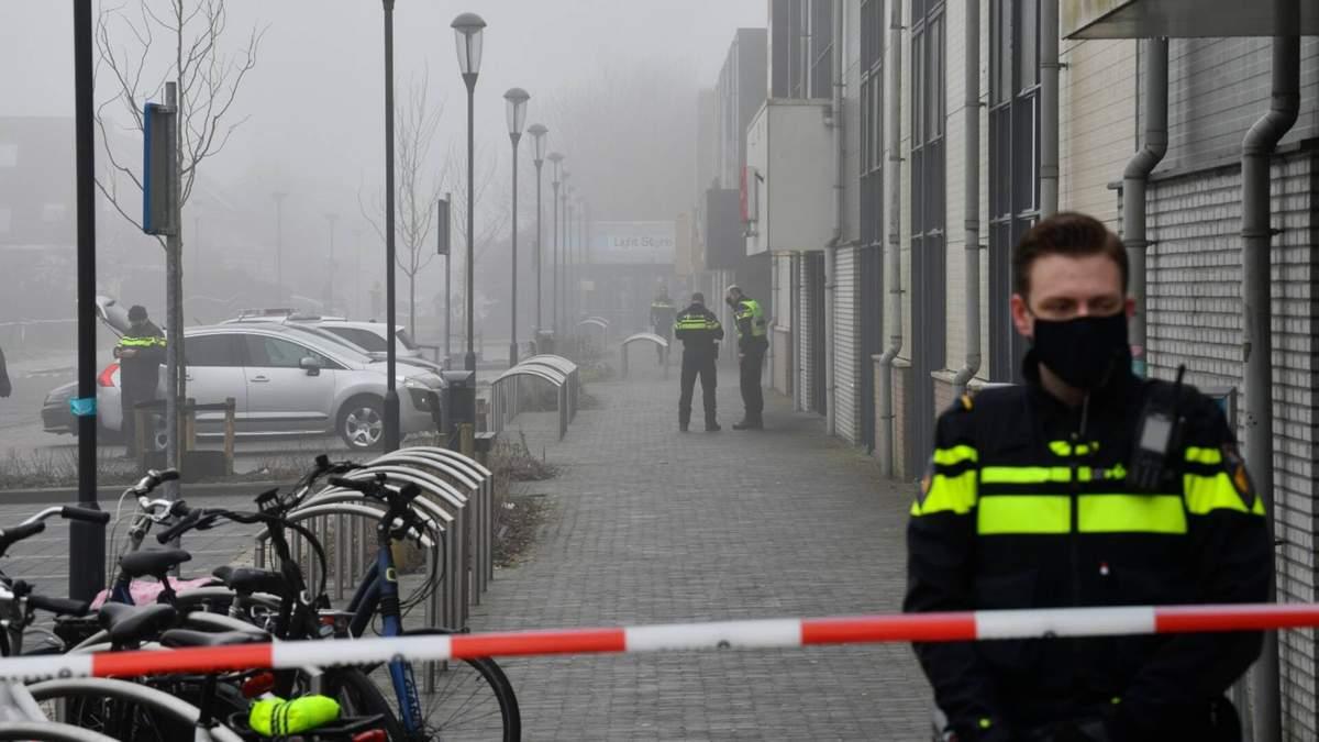 В Нидерландах прогремел взрыв у центра тестирования: видео