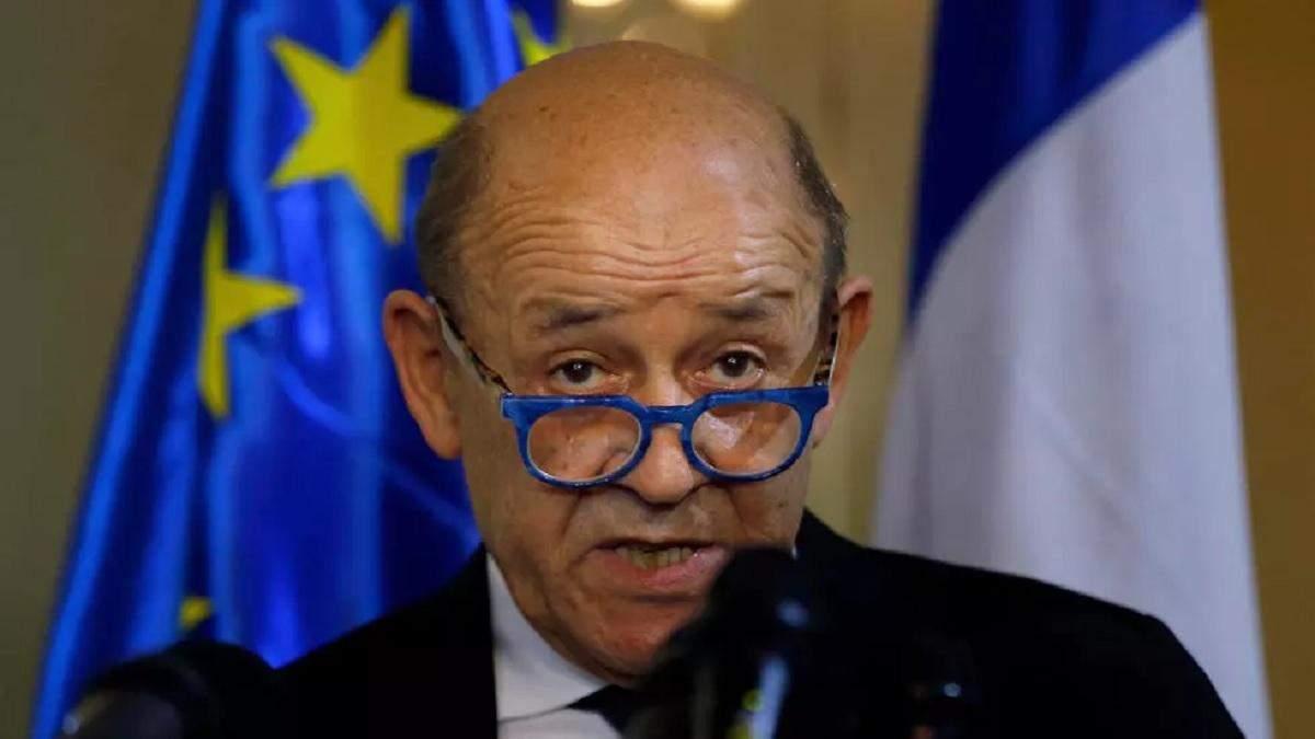 Росія – нестерпний сусід, з яким треба говорити, – глава МЗС Франції
