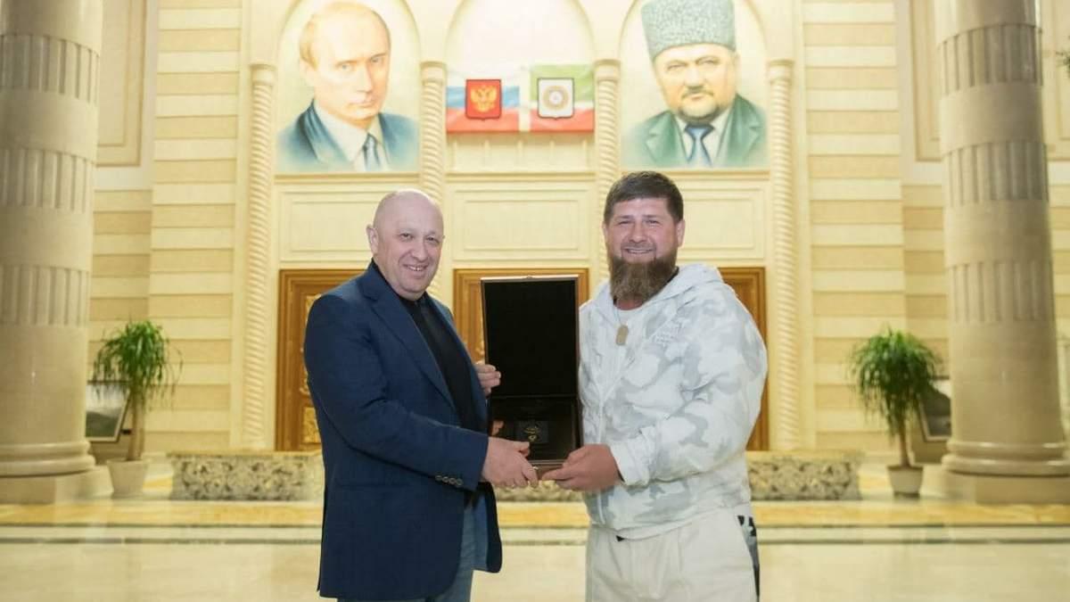 Кадиров жартома вимагав гроші від ФБР за кухаря Путіна Пригожина