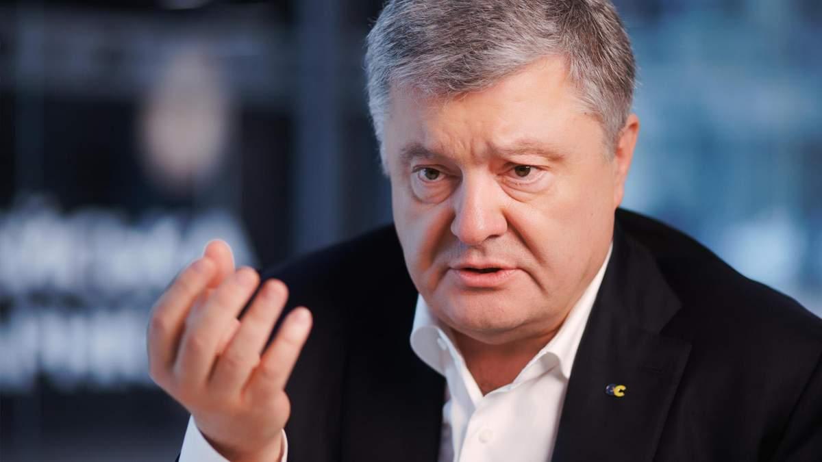 Порошенко недолуго висловився про вакцину в Україні