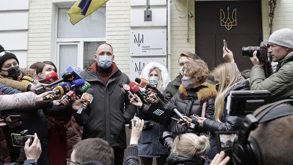 Татаров пытался через суд добиться отмены подозрения
