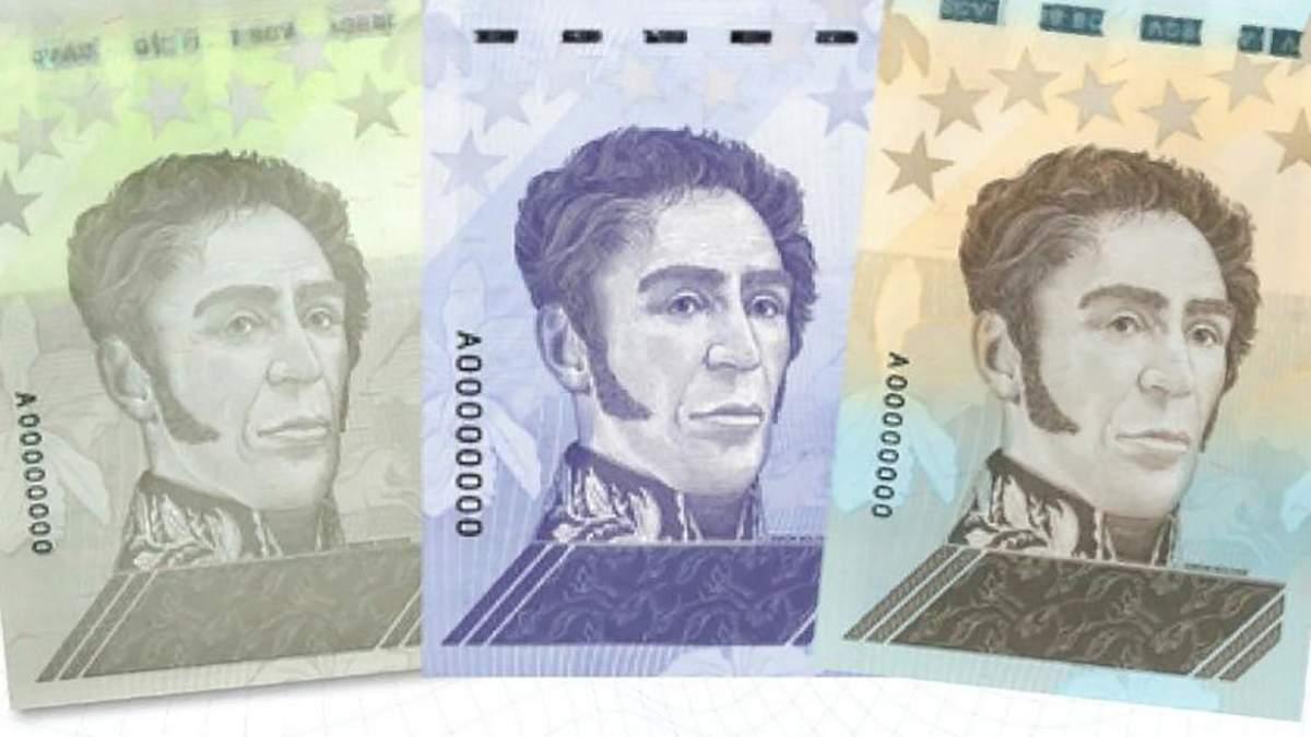 В Венесуэле введут банкноту в 1 миллион боливаров