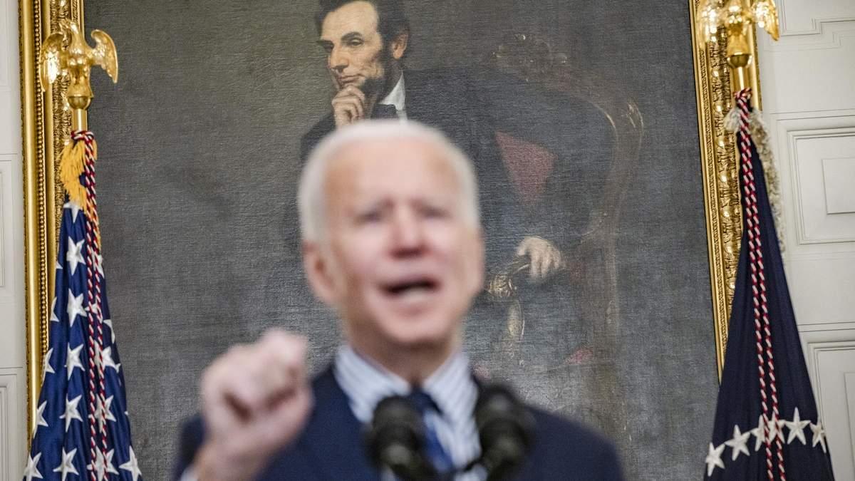 Сенат підтримав антикризовий пакет Байдена на 1,9 трильйона