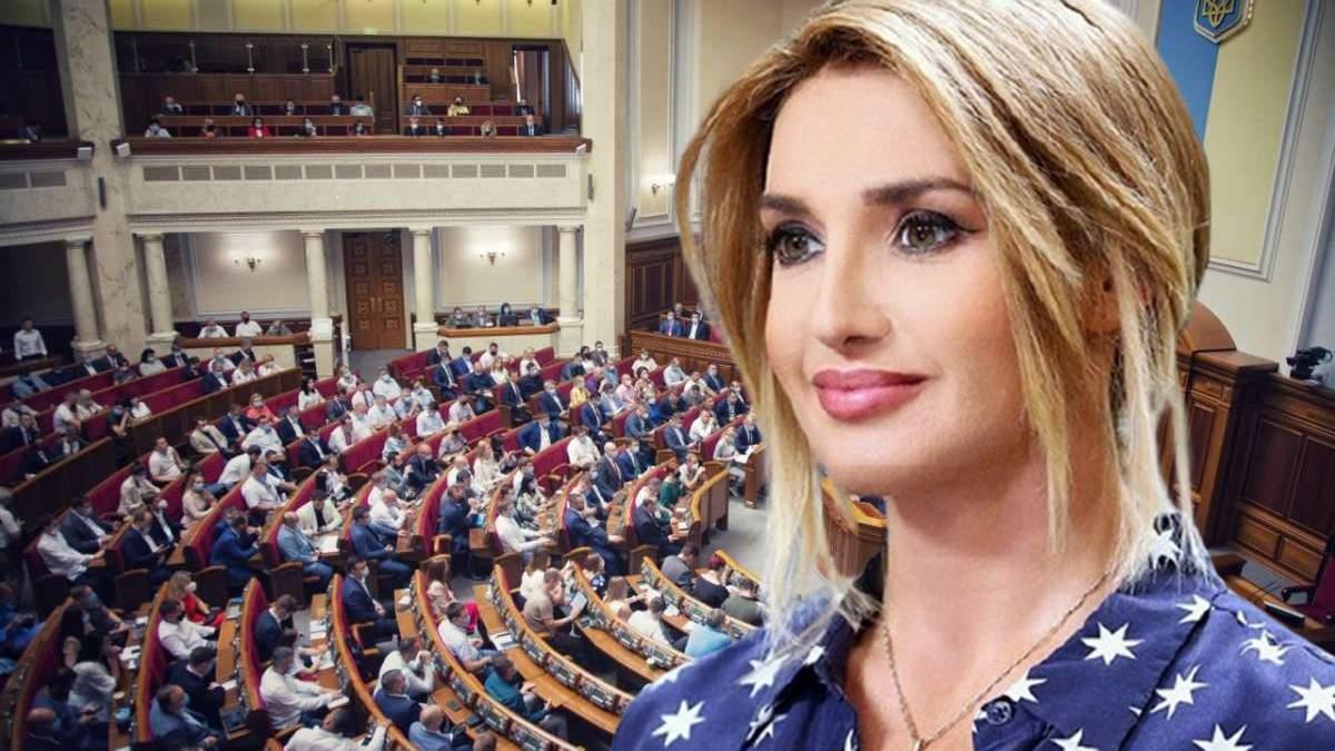 Марченко в політиці: недолугі висловлювання дружини Медведчука
