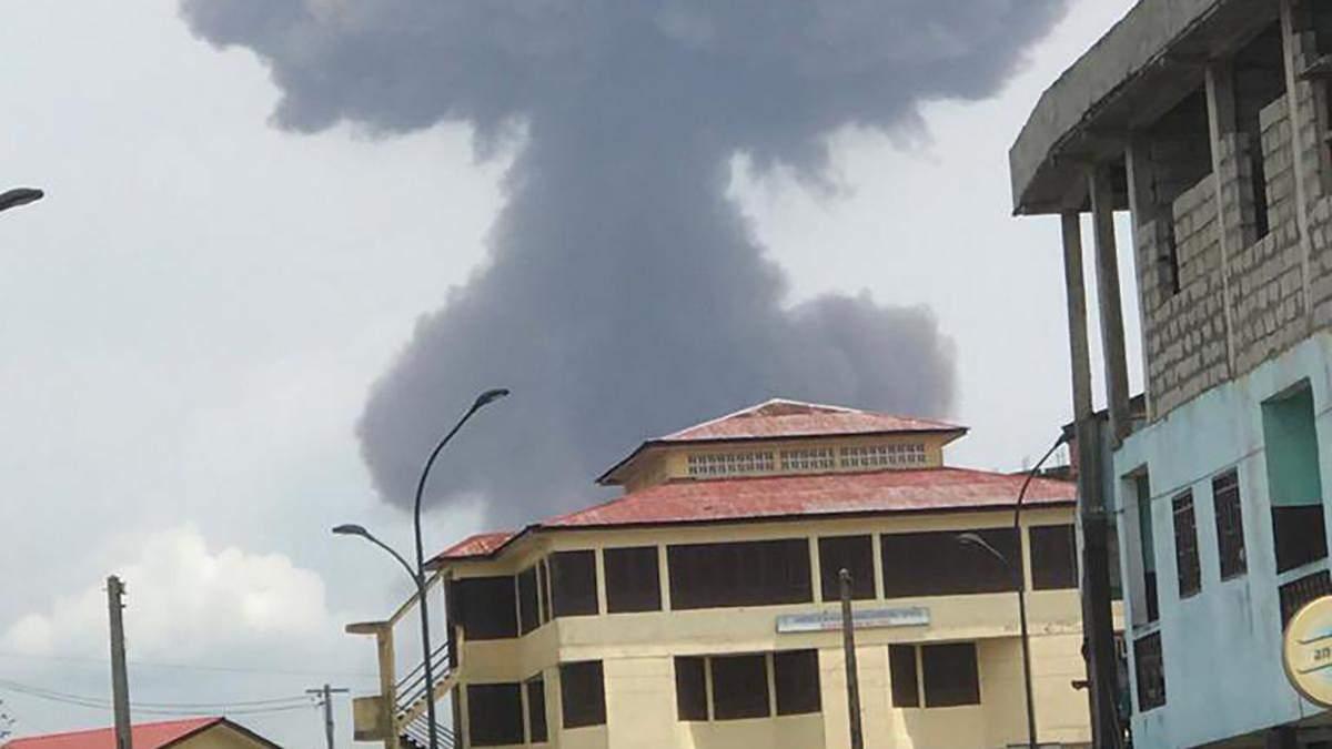 У Баті (Екваторіальна Гвінея) пролунала серія вибухів: десятки загиблих, сотні поранених – фото, відео